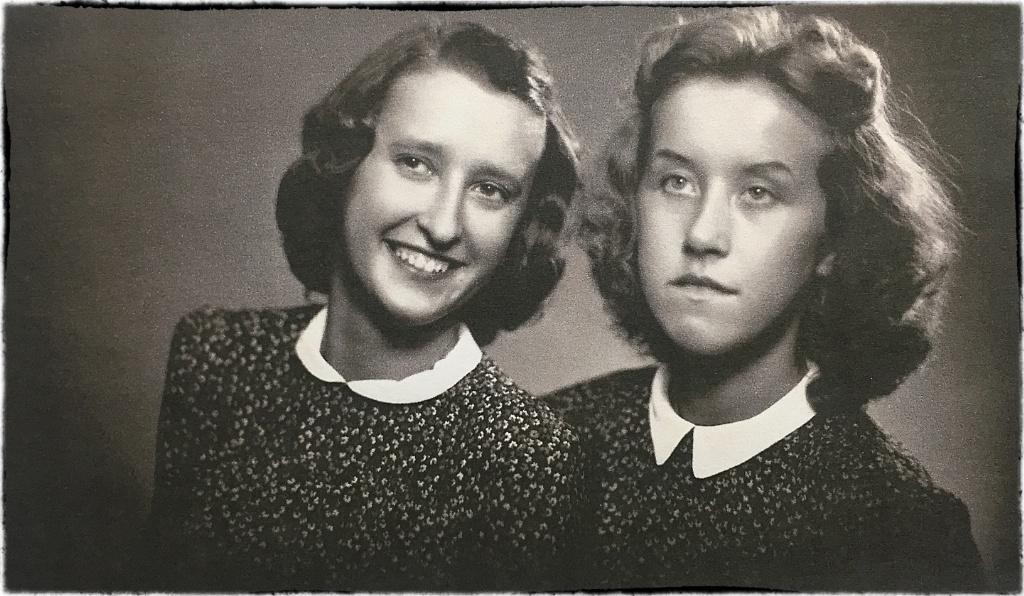 Dcery Otty Graua, Věra (*4.12.1924) a Dagmara (*27.3.1927)