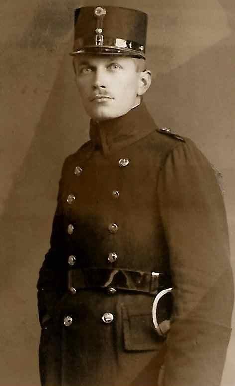 Petr Grau (1891-1936) – četník